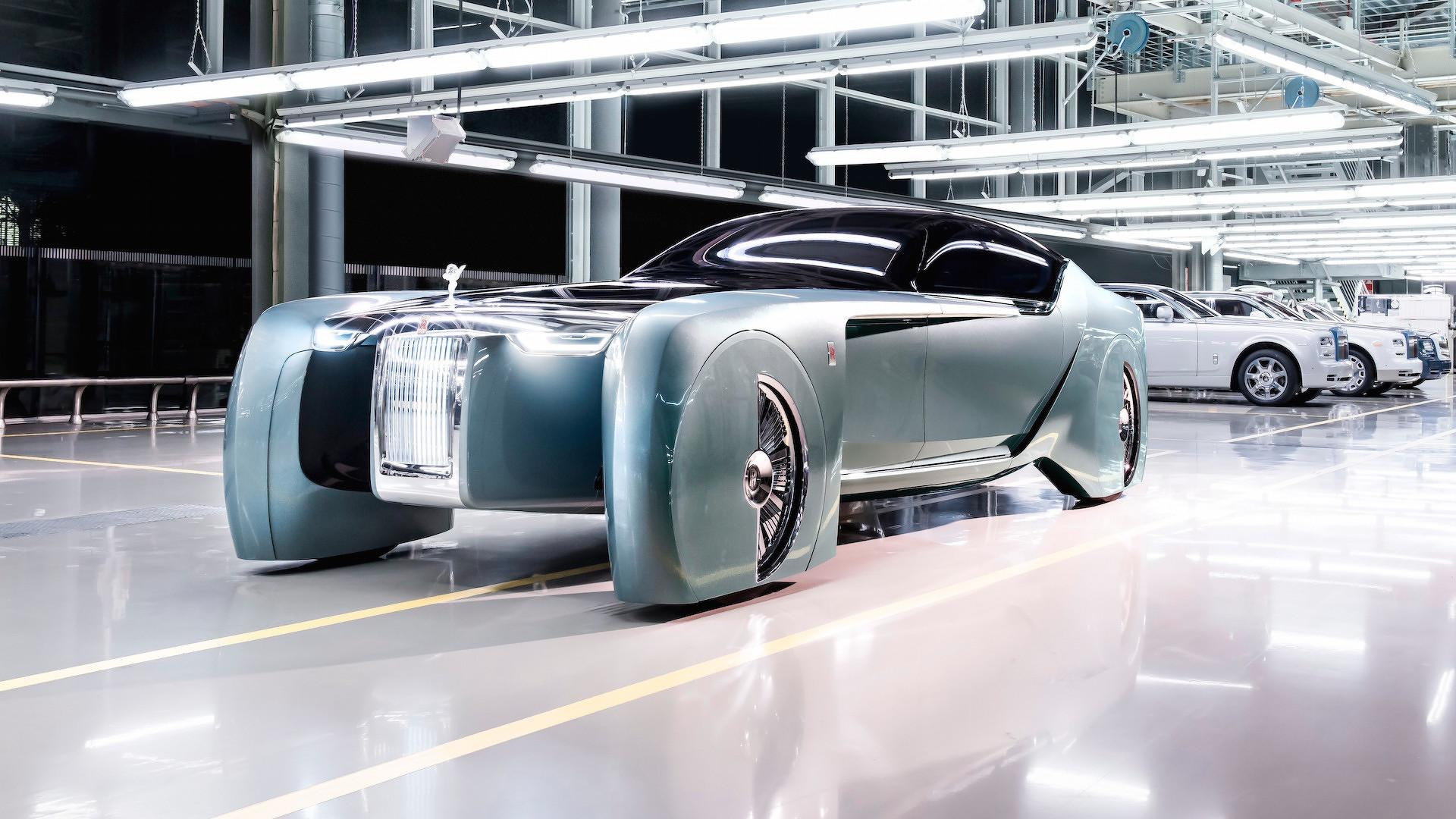 "Rolls-Royce EV Shaping Out To Be A  ""Real Noyce"" Ride To The Future"